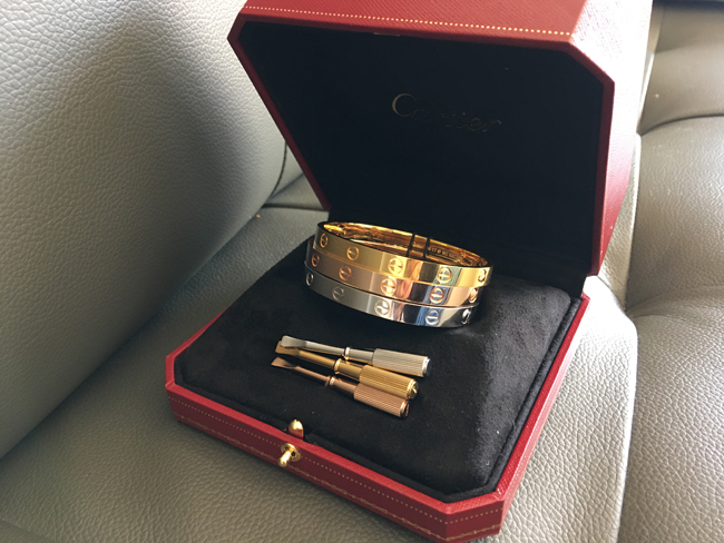 Can you buy a cartier love bracelet for yourself? only $103 USD